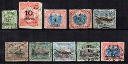 Bornéo Belle Petite Collection D'oblitérés 1894/1912. Bonnes Valeurs Et Oblitérations Postales. B/TB. A Saisir! - Bornéo Du Nord (...-1963)