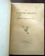 Les Aventures Galantes De Quelques Enfants De Loyola - 1882 - CURIOSA - Livres, BD, Revues