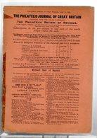 """Gb Londres 1898/ """"the Philatelic Journal Of Great Brtitain """" 15/6/1898  +philatelic Journal Of Great Britain Advertise - Zeitschriften"""