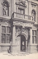 Veurne, Furnes, Palais De Justice, Le Portail (pk58786) - Veurne