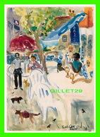 PEINTURE - FRENCH CAFÉ - GO-CARD 2002, No 6158 - - Peintures & Tableaux