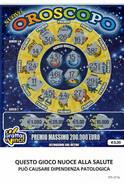 GRATTA E VINCI   - OROSCOPO DA € 3.00 - USATO -  (QUESTO GIOCO NUOCE ALLA SALUTE) - Biglietti Della Lotteria
