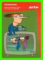 SÉRIE TV - CINÉMANIAC, SÉRIE AMÉRICAINE (2000) SUR ARTE - - Séries TV