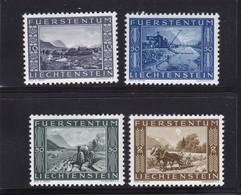 Liechtenstein, Nr. 218/21** (T 11317) - Usados