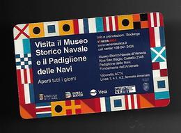 Biglietto Di Ingresso - Venezia Museo Storico Navale - Biglietti D'ingresso
