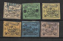 1853/1864 - BRAUNSCHWEIG,  2 Scan - Brunswick