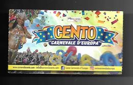 Biglietto Di Ingresso - Cento Carnevale D'Europa - Biglietti D'ingresso
