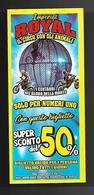 Biglietto Ingresso - Circo Royal Imperial 4  Cm. 14x6 - Biglietti D'ingresso