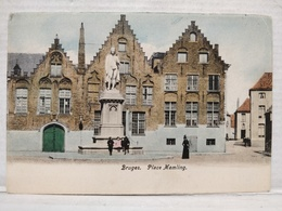 Bruges. Place Memling. Animée - Brugge