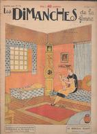 LES DIMANCHES DE LA FEMME - 1925 - Libri, Riviste, Fumetti
