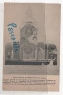 78 YVELINES - CP EGLISE Ste JEANNE D'ARC DE VERSAILLES ( PLAN EN COUPE ) - EGLISE VOTIVE ET COMMEMORATIVE DE LA GUERRE - Versailles