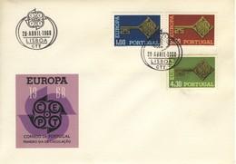 1968 - PORTOGALLO - EUROPA - BUSTA FDC.+14 - FDC