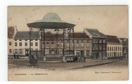 Hoegaarden HOUGAERDE - LA GRAND'PLACE  1912 - Hoegaarden