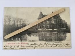 LOUPOIGNE «Le Château «Panorama 1904(Édit Ve Delpierre-Decorte,Genappe). - Genappe