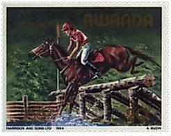 Jeux Olympiques (Équitation / Cheval) - Rwanda - 1984 - Rwanda