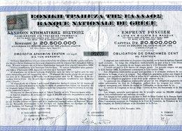 Banque Nationale De Grèce: Emprunt Foncier De 1904 - Azioni & Titoli