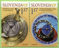 004 Slovenija 2019 - JOINT ISSUE SLOVENIA– SLOVAKIA - MNH ** - Slovénie