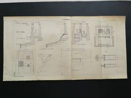 ANNALES PONTS Et CHAUSSEES - Plan Du Maréosiphon - 1902 (CLB86) - Cartes Marines