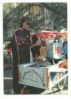 CPM Aix En Provence Triade Chanteur Et Musicien Des Rues Orgue De Barbarie En Gros Plan Photo Tissot 1986 - Music And Musicians