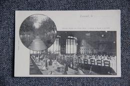 LUXEUIL - Grand Hôtel Du LION VERT , Jardin Et Salle à Manger. - Luxeuil Les Bains