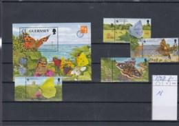 Guernsey Michel Cat.No. Mnh/** 729/732 + Sheet 18 - Guernesey