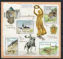 France 2003 Bloc Feuillet N° 64 Neuf Luxembourg à La Faciale - Blocs & Feuillets