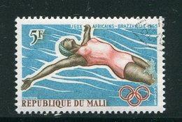 MALI- Y&T N°83- Oblitéré (natation) - Mali (1959-...)