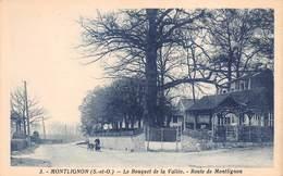 95 - Montlignon - Beau Cliché Du Bouquet De La Vallée - Route De Montlignon - Montlignon