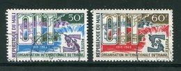 MALI- Y&T N°116 Et 117- Oblitérés - Mali (1959-...)