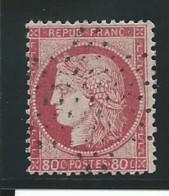FRANCE: Obl., N° YT 57, Rose, TB - 1871-1875 Ceres