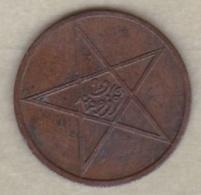 MAROC. 2 Mouzounas (Mazounas) AH 1330. PARIS , Frappe Médaille - Morocco