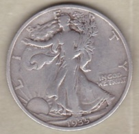 Etats-Unis. Half Dollar 1935. Walking Liberty. Argent - Federal Issues
