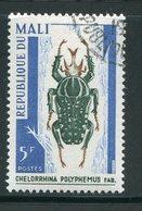 MALI- Y&T N°101- Oblitéré (insecte) - Mali (1959-...)