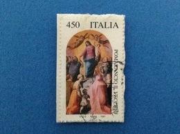 1997 PATRIMONIO ARTE POMARANCIO IL VECCHIO 450 ITALIA FRANCOBOLLO USATO STAMP USED - 6. 1946-.. Repubblica