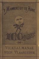 't Manneke Uit De Mane – 1981 (nr. 59) – Volksalmanak Voor Vlaanderen. - Livres, BD, Revues