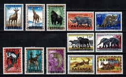 Katanga 1960 - 6/17** MNH - Katanga