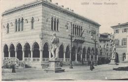CARTOLINA - POSTCARD - UDINE - PALAZZO MUNICIPALE - VIAGGIATA PER VERCELLI - Udine