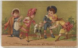 Lith Et Imp Vieillemard & Ses Fils Sur Fond Or  : Récréation De Ma Poupée - Poulain