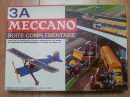 Boîte Complémentaire MECCANO N° 3A Fin Années 60 Début 1970. - Meccano