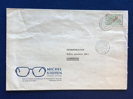 Luxembourg - Enveloppe - Michel Steffen Opticien - Esch-sur-Alzette - 21.10.75 - Luxembourg