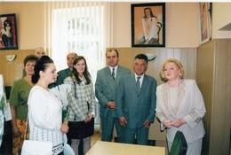 """UKRAINE. #1624 A PHOTO. """"KIEV. MAYOR OMELCHENKO RECEIVES GUESTS. *** - Proyectores De Cine"""