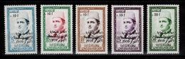 Maroc - YV 397 à 401 N** Complete Victimes Des Huiles Frelatées - Maroc (1956-...)
