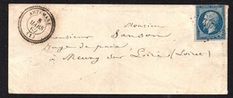 8 MARS 1862 . Artemare   . 20 Ct N° 14. - 1849-1876: Période Classique