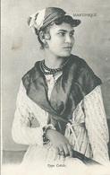 CPA MARTINIQUE Jeune Femme Type Créole - Martinique