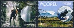 """Açores - Les Açores """"certifié Par La Nature"""" 608/609 (année 2016) Oblit. - Açores"""