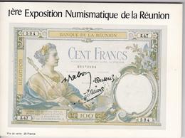 1ère Exposition Numismatique De LA REUNION, Organisée Le 28 Nov. 1983 Par La Caisse D'Epargne De SAINT DENIS - Livres & Logiciels