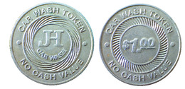 04452 GETTONE JETON TOKEN AUTOLAVAGGIO JH CAR WASH - USA