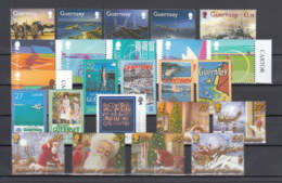 Guernsey Nuovi:  2003  Annata Completa - Guernesey
