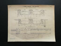 ANNALES PONTS Et CHAUSSEES (Allemagne) - IV Congrès De Navigation - Canal Kaiser-Wilhelm -1903 (CLB99) - Nautical Charts