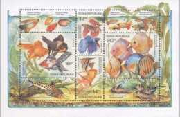 2003 Czech / Tschechien -Fishes Of Aquarium - MNH ** Mi B 19 - Tschechische Republik